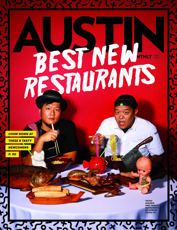 Cover of the Day: Austin Monthly, November 2017