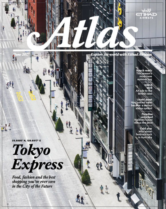 Cover of the Day: Atlas Magazine, June 2017