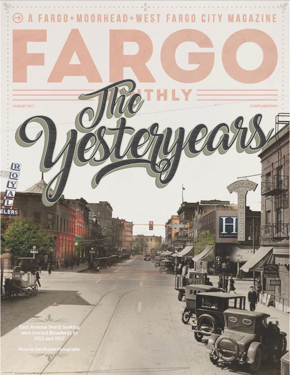 Cover of the day: Fargo Monthly, August 2017