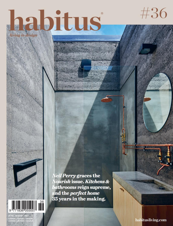 Cover of the day: habitus magazine, June-August 2017