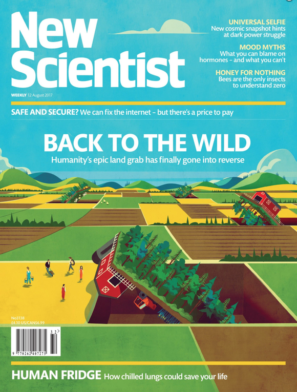 Cover of the day: New Scientist, August 2017