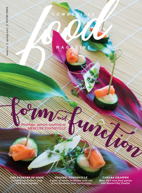 Cover of the day: Townsville Food Magazine (Australia), October 2017
