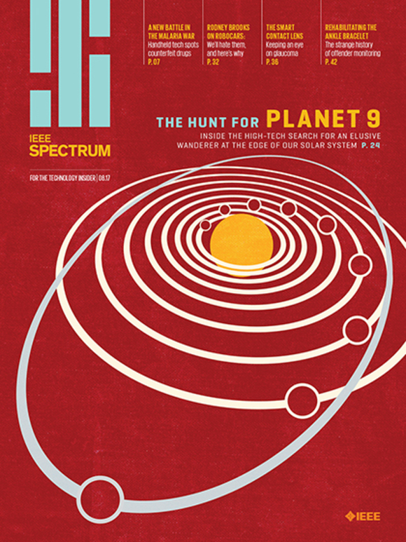 Cover of the Day: IEEE Spectrum, August 2017