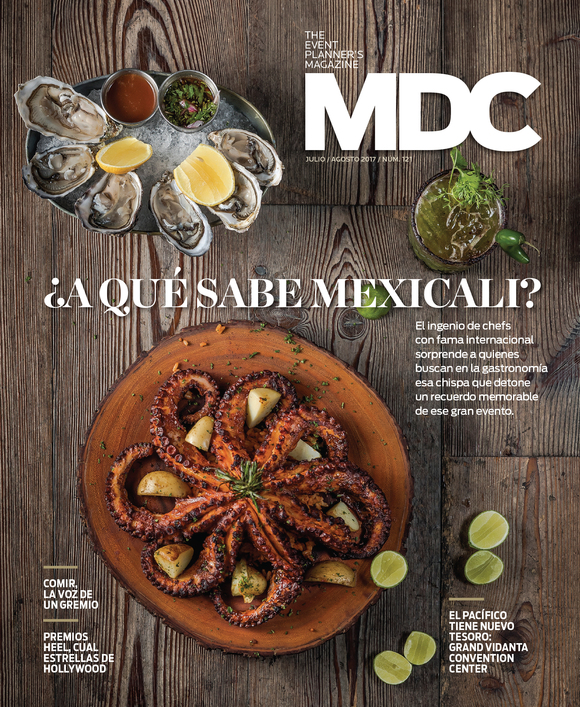 Cover of the Day: MDC The Event Planner's Magazine, July/August 2017