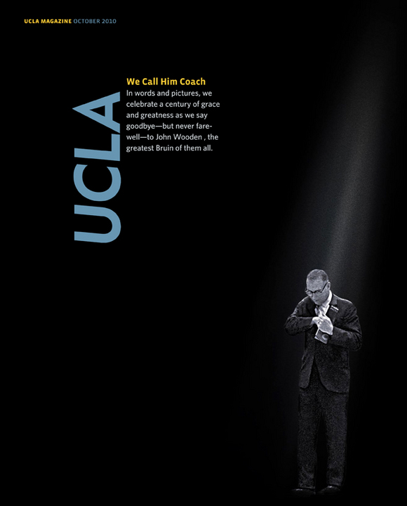 UCLA's Tribute to Coach Wooden
